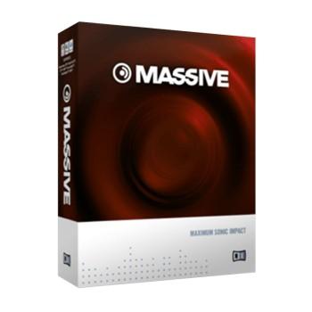 وی اس تی پلاگین نیتیو اینسترومنتز Native Instruments Massive 1.5.1 with Full Preset Pack
