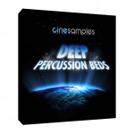 وی اس تی پلاگین  CineSamples Deep Percussion Beds