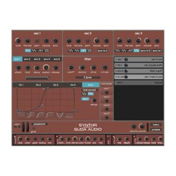 وی اس تی پلاگین گودا آدیو GuDa Audio SynthR