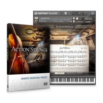 وی اس تی پلاگین نیتیو اینسترومنتز Native Instruments Action Strings