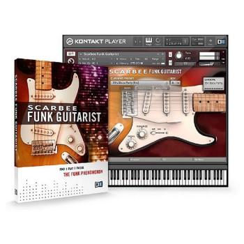 وی اس تی پلاگین نیتیو اینسترومنتز Native Instruments Scarbee Funk Guitarist
