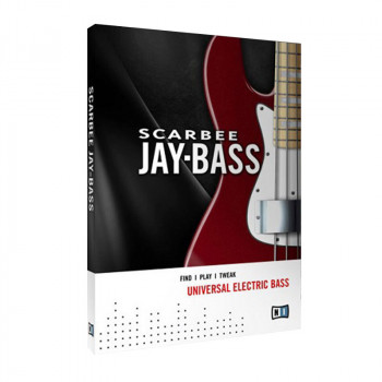 وی اس تی پلاگین نیتیو اینسترومنتز Native Instruments Scarbee Jay-Bass