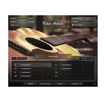 وی اس تی پلاگین نیتیو اینسرومنت Native Instruments Session Guitarist Picked Acoustic