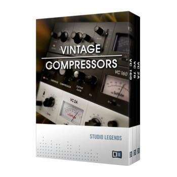 وی اس تی پلاگین نیتیو اینسترومنتز Native Instruments Vintage Compressors 1.0