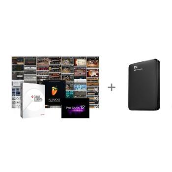 وی اس تی پلاگین تی ام گروپ 1TB HDD + 500GB Software