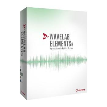 نرم افزار میزبان اشتنبرگ Steinberg WaveLab Elements 9